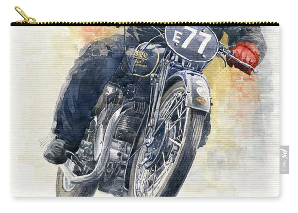 1934 Rudge Ulster Grand Prix Model  Carry-all Pouch