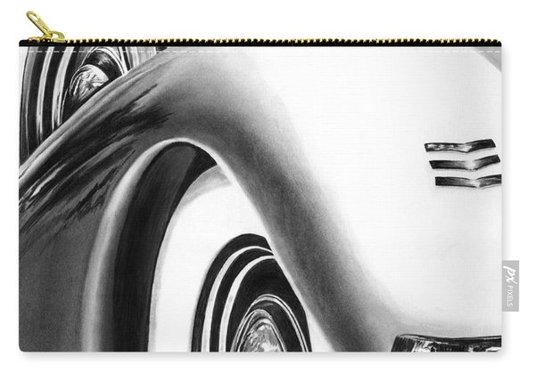 1935 Lasalle Abstract Carry-all Pouch