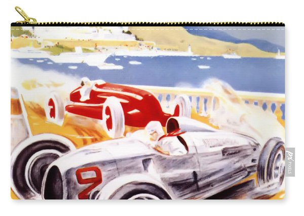 1936 F1 Monaco Grand Prix  Carry-all Pouch