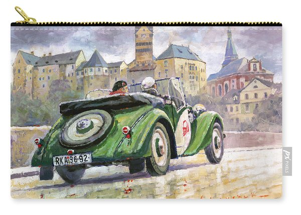 1936 Praga Baby Roadster And Loket Kastle Carry-all Pouch