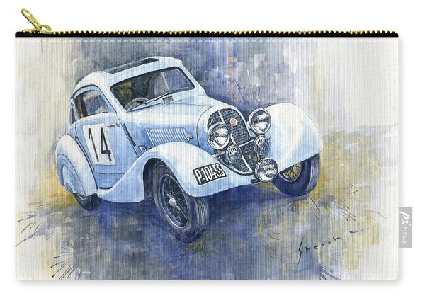 1937 Aero 750 Sport Coupe Carry-all Pouch