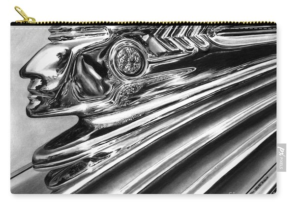 1937 Pontiac Chieftain Abstract Carry-all Pouch