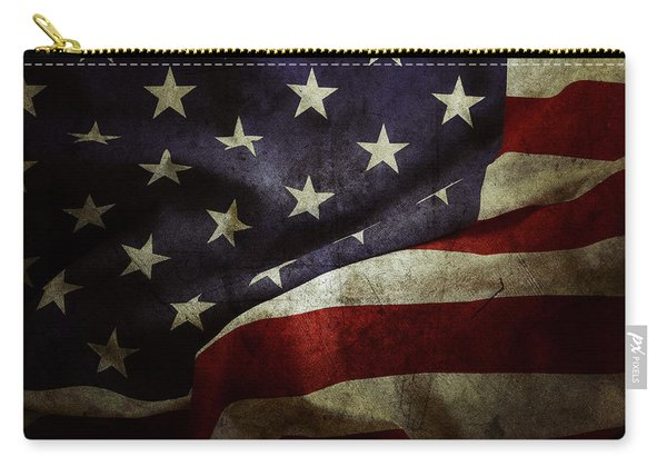 American Flag 78 Carry-all Pouch