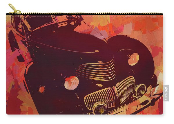1940 Hupp Skylark Red Pop Carry-all Pouch