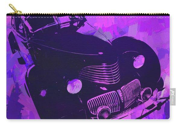 1940 Hupp Skylark Violet Pop Carry-all Pouch