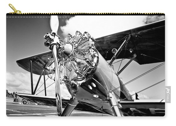 1940 Stearman Biplane Carry-all Pouch
