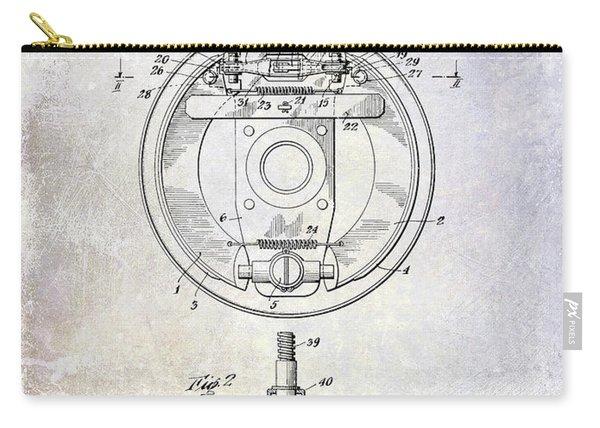 1941 Porsche Brake Mechanism Patent Carry-all Pouch