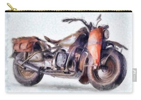 1942 Harley Davidson, Military, 750cc Carry-all Pouch
