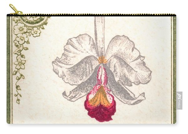 1947 Colombia Cattleya Chocoensisi Orchid Stamp Carry-all Pouch
