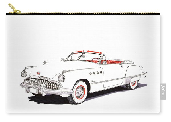 1949 Buick Roadmaster Convertible Carry-all Pouch