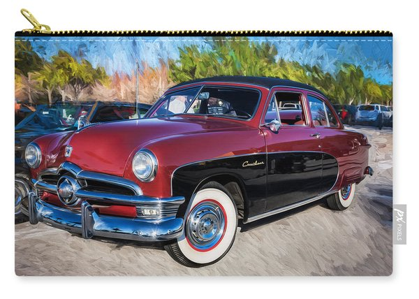 1950 Ford 2 Door Crestliner Painted    Carry-all Pouch