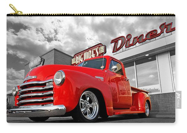 1952 Chevrolet Truck At The Diner Carry-all Pouch