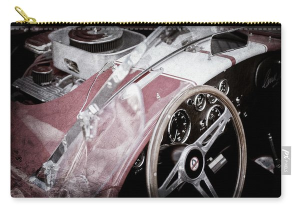 1955 Ac Cobra Steering Wheel - Engine -1043ac Carry-all Pouch