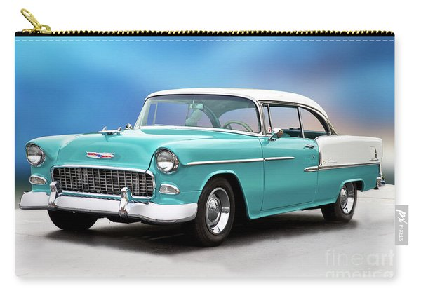 1955 Chevrolet Bel Air 'back In The Day' Carry-all Pouch