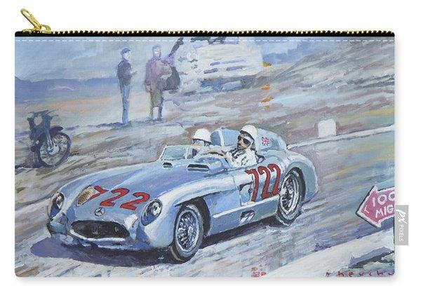 1955 Mercedes Benz 300 Slr Moss Jenkinson Winner Mille Miglia 01-02 Carry-all Pouch