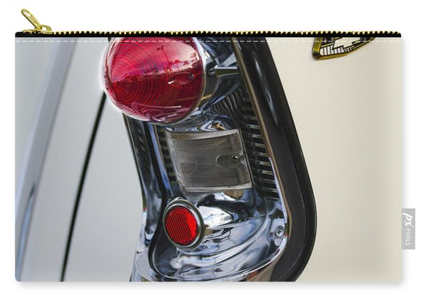 1956 Chevrolet Belair Nomad Taillight Emblem Carry-all Pouch