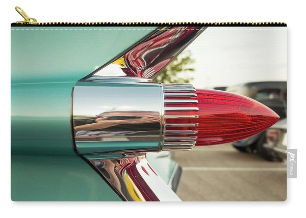 1959 Cadillac Sedan Deville Series 62 Tail Fin Carry-all Pouch