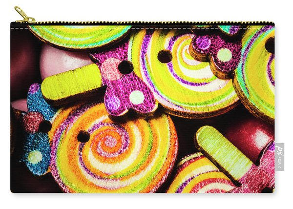 1960s Hypnotic Sweetness Carry-all Pouch