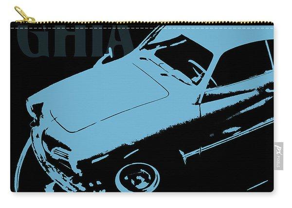 1962 Karmann Ghia Pop Art Blue Carry-all Pouch