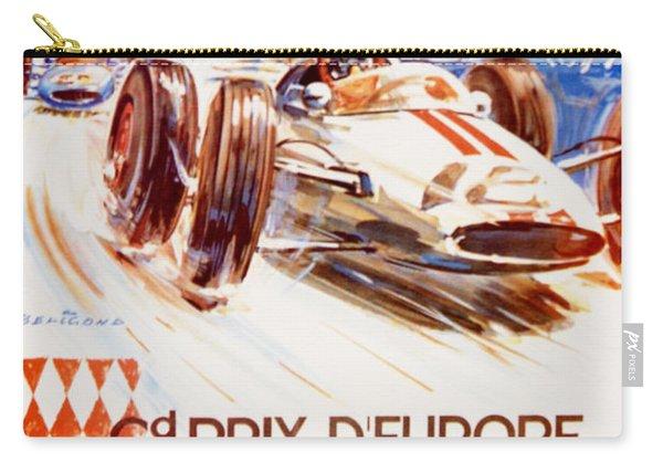 1963 F1 Monaco Grand Prix  Carry-all Pouch