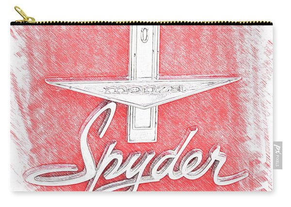 1963 Monza Spyder Emblem Sketch Carry-all Pouch