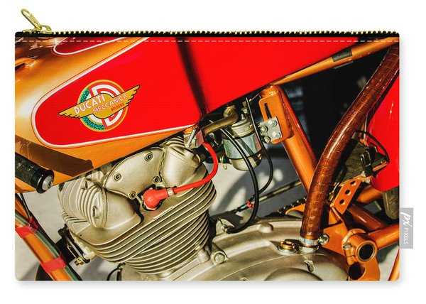 1964 Ducati 250cc F3 Corsa Motorcycle -2726c Carry-all Pouch