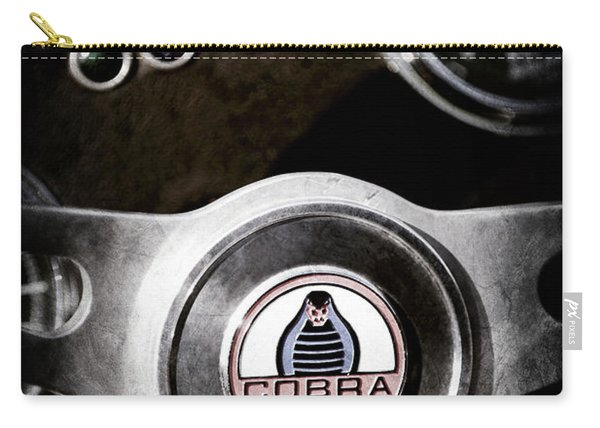 1965 Ac Cobra Steering Wheel Emblem -1733ac Carry-all Pouch