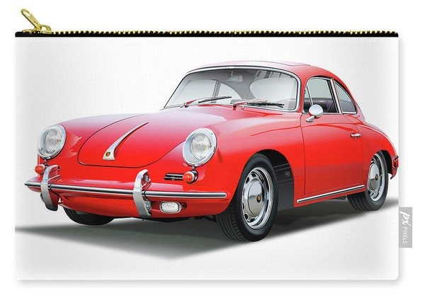 1965 Porshe 356 Sc Coupe Carry-all Pouch