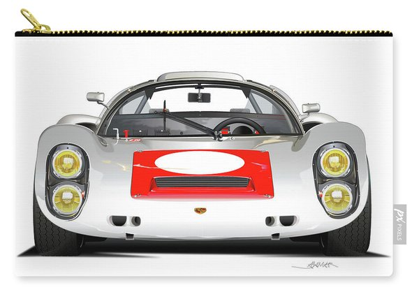 1967 Porsche 910 Illustration Carry-all Pouch