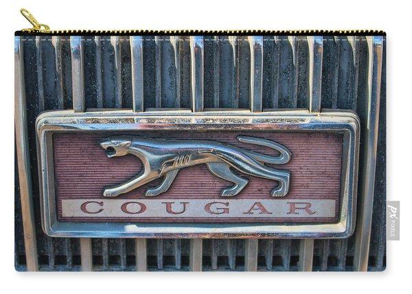1968 Mercury Cougar Emblem Carry-all Pouch