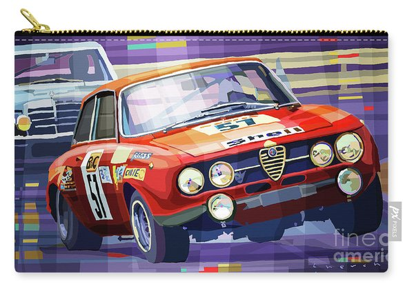 1970 Alfa Romeo Giulia Gt Carry-all Pouch