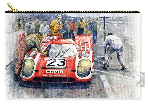 1970 Le Mans 24 Porsche917k Attwood Herrmann Winner  Carry-all Pouch