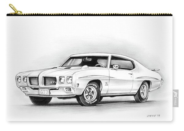 1970 Pontiac Gto Judge Carry-all Pouch