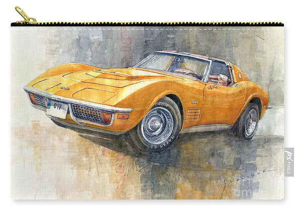 1971 Chevrolet Corvette Lt1 Coupe Carry-all Pouch
