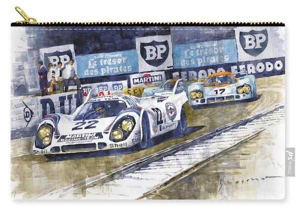 1971 Le Mans Winner 24 Porsche 917k #22 Carry-all Pouch