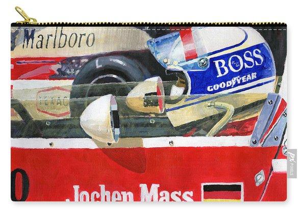 1976 Jarama Marlboro F1 Team Mclaren Jochen Mass Carry-all Pouch