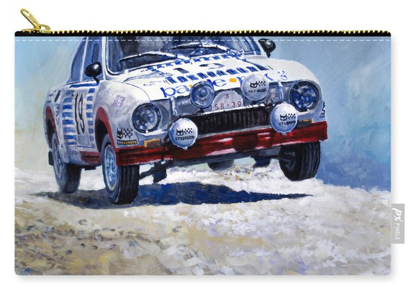 1978 Skoda 130 Rs #19 Rally Acropolis Haugland Carry-all Pouch