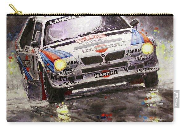 1986 Rallye Monte-carlo  Lancia Delta S4 Lancia Martini  Toivonen Cresto Winner Carry-all Pouch
