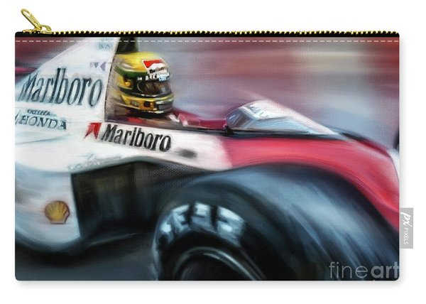 Racing 1989 Monaco Grand Prix Carry-all Pouch