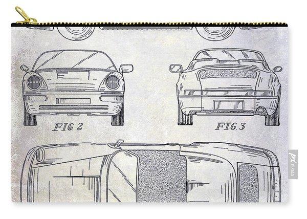 1990 Porsche 911 Patent Carry-all Pouch