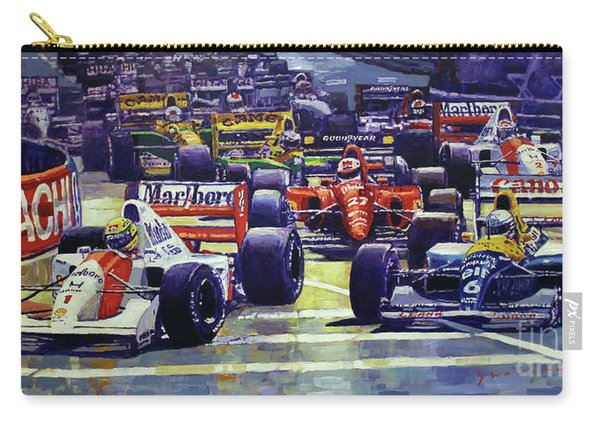 1992 Monaco Gp Start  Carry-all Pouch