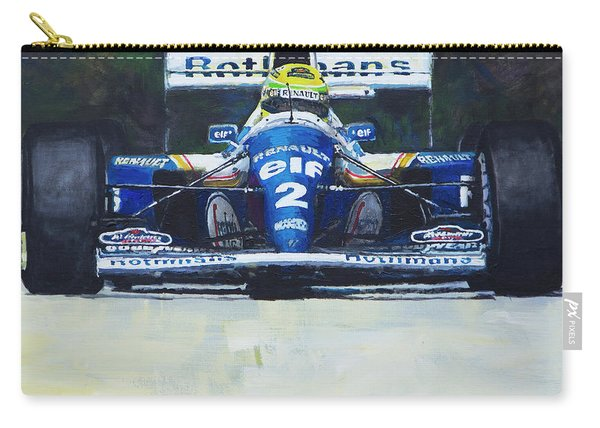 1994 Ayrton Senna Williams Renault Fw16 Carry-all Pouch