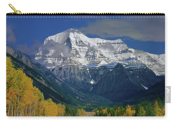 1m2441-h Mt. Robson And Yellowhead Highway H Carry-all Pouch