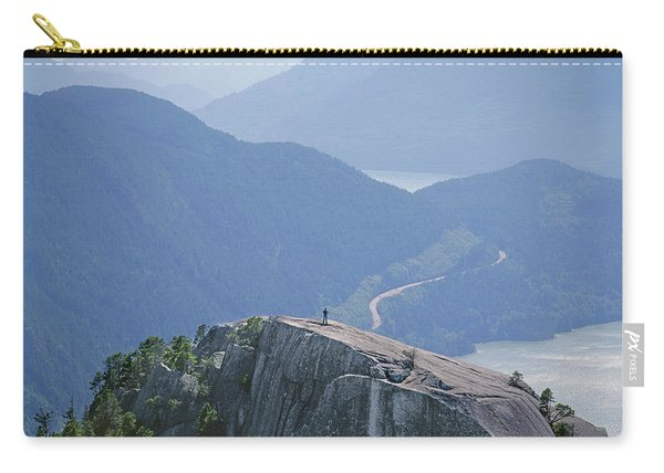 1m2918 South Summit Stawamus Chief From Second Summit Carry-all Pouch