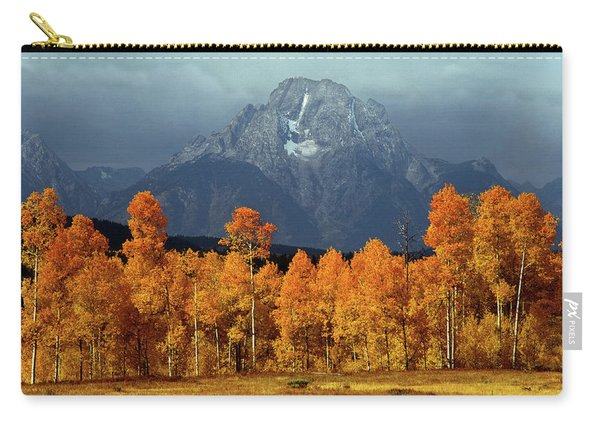 1m9235 Mt. Moran In Autumn Carry-all Pouch