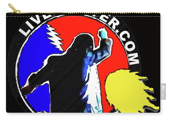 1st Live Painter Logo Carry-all Pouch