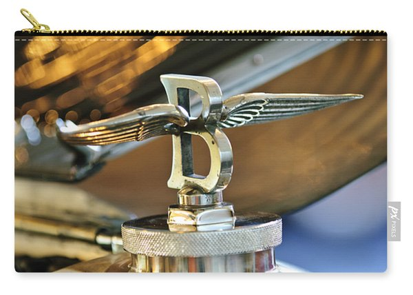 1927 Bentley 6.5 Litre Sports Tourer Hood Ornament Carry-all Pouch