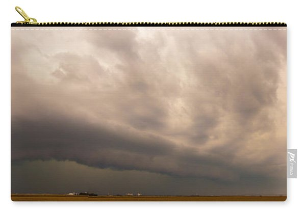 Carry-all Pouch featuring the photograph 3rd Storm Chase Of 2015 by NebraskaSC