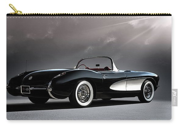 '56 Corvette Convertible Carry-all Pouch