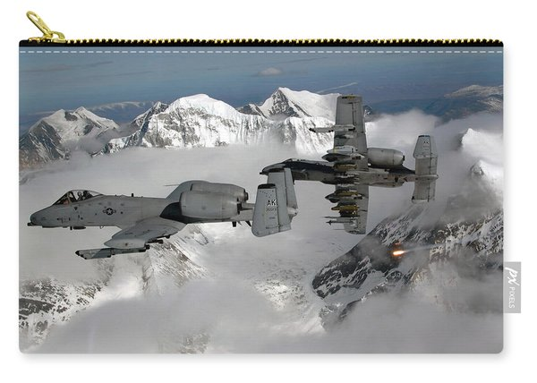 A-10 Thunderbolt IIs Fly Carry-all Pouch